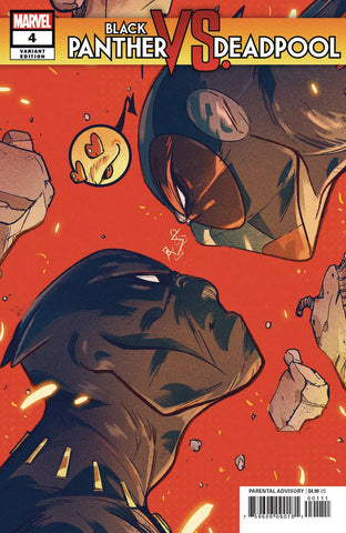 BLACK PANTHER VS DEADPOOL #4 (OF 5) ORTIZ VAR 1/30/2019