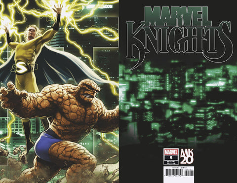 MARVEL KNIGHTS 20TH #5 (OF 6) ANDREWS CONNECTING VAR 1/2/2019