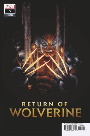 RETURN OF WOLVERINE #5 (OF 5) KUBERT VAR 2/20/2019