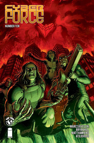 CYBER FORCE #10 (MR) 1/23/2019