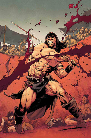 CONAN THE BARBARIAN #1 ASRAR PARTY VAR 1/2/2019