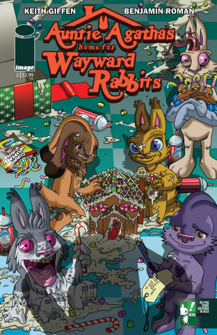 AUNTIE AGATHAS HOME FOR WAYWARD RABBITS #2 (OF 6) CVR B HERO 12/19/2018