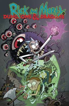 RICK AND MORTY VS DUNGEONS & DRAGONS TP (C: 0-1-2) 3/13/2019