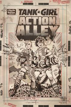 TANK GIRL ACTION ALLEY #3 CVR C ARTIST ED 2/20/2019
