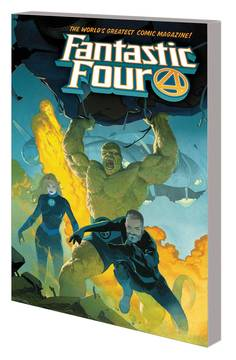 FANTASTIC FOUR TP VOL 01 FOUREVER 3/6/2019