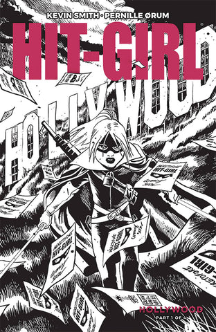 HIT-GIRL SEASON TWO #1 CVR B B&W FRANCAVILLA (MR) 2/13/2019