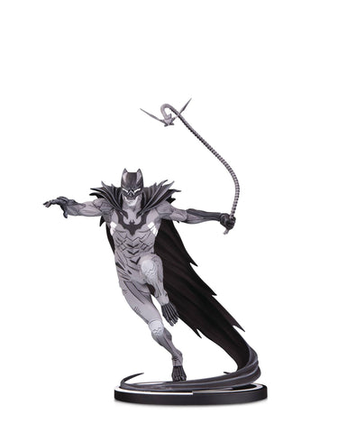 BATMAN BLACK & WHITE STATUE BY KENNETH ROCAFORT 7/31/2019