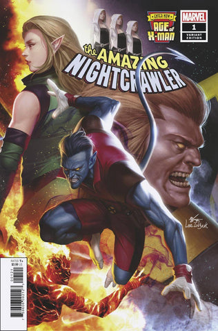 AGE OF X-MAN AMAZING NIGHTCRAWLER #1 (OF 5) INHYUK LEE CONNE 2/20/2019
