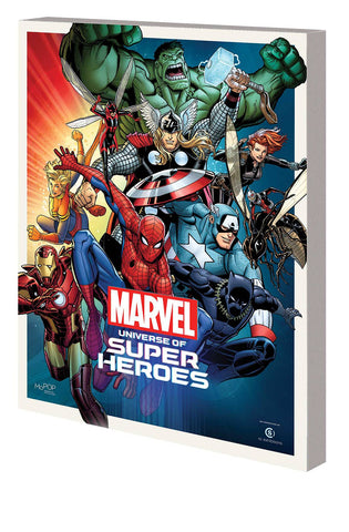 MARVEL UNIVERSE SUPER HEROES TP MUSEUM EXHIBIT GUIDE 2/27/2019