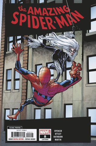 AMAZING SPIDER-MAN #8 2ND PTG RAMOS VAR 12/19/2018