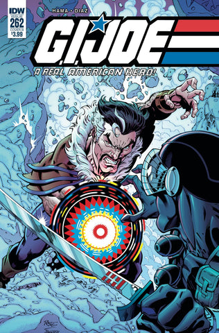 GI JOE A REAL AMERICAN HERO #262 CVR A DIAZ (C: 1-0-0) 3/27/2019