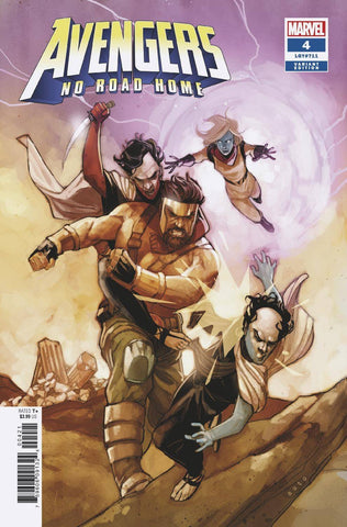 AVENGERS NO ROAD HOME #4 (OF 10) NOTO CONNECTING VAR 3/6/2019