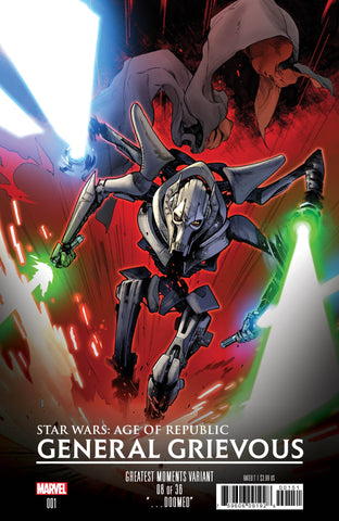 STAR WARS AOR GENERAL GRIEVOUS #1 GREATEST HITS VAR 3/13/2019