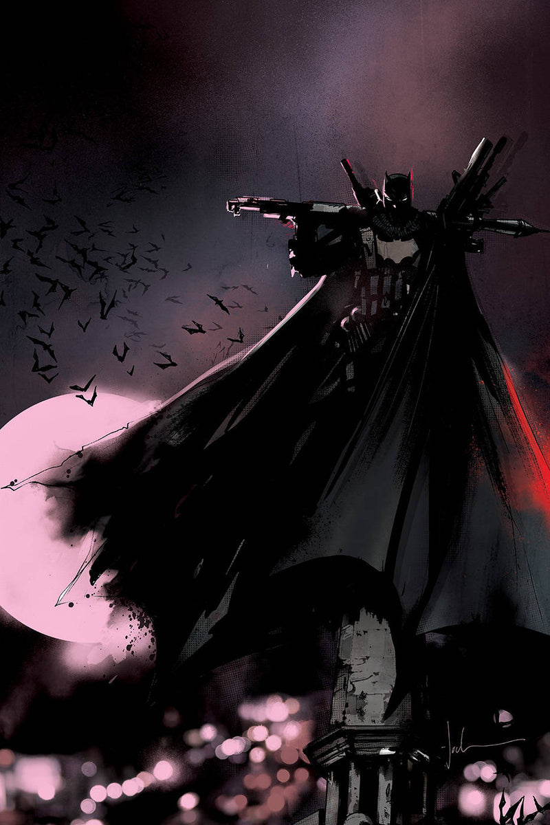 BATMAN WHO LAUGHS THE GRIM KNIGHT