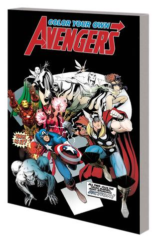 COLOR YOUR OWN AVENGERS 2 TP 3/27/2019