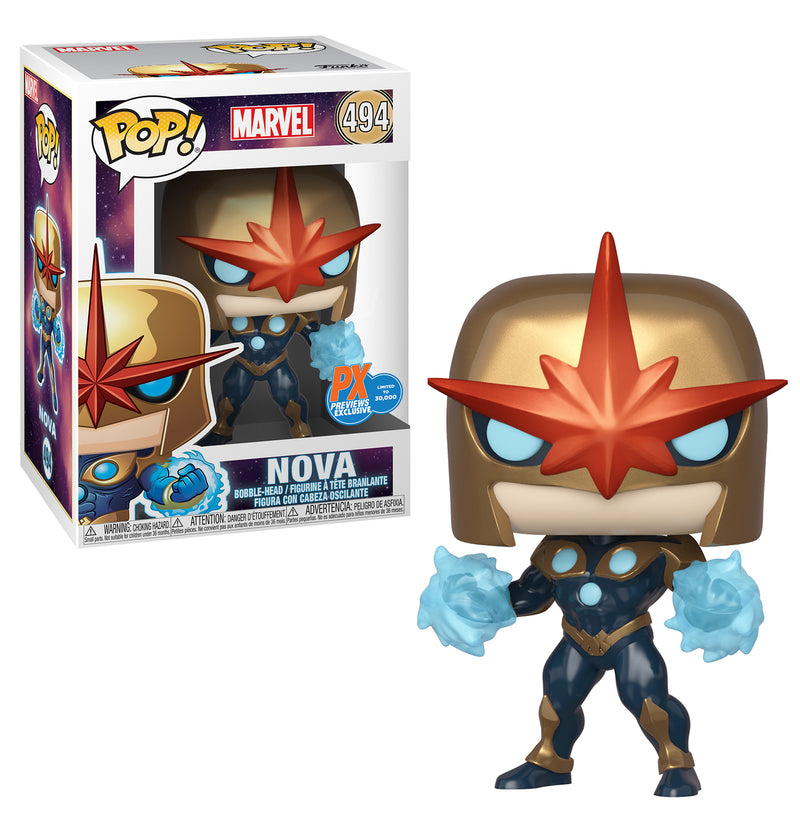 POP MARVEL NOVA PRIME PX VINYL FIGURE