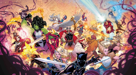 WAR OF REALMS #1 DAUTERMAN WRAPAROUND GATEFOLD YOUNG GUNS VA 4/3/2019