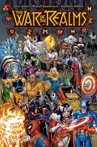 WAR OF REALMS #1 PARTY VAR 4/3/2019