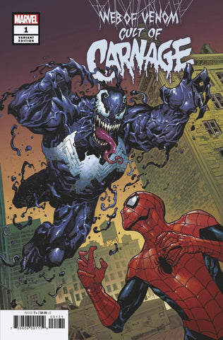 WEB OF VENOM CULT OF CARNAGE #1 ARTIST VAR 4/10/2019