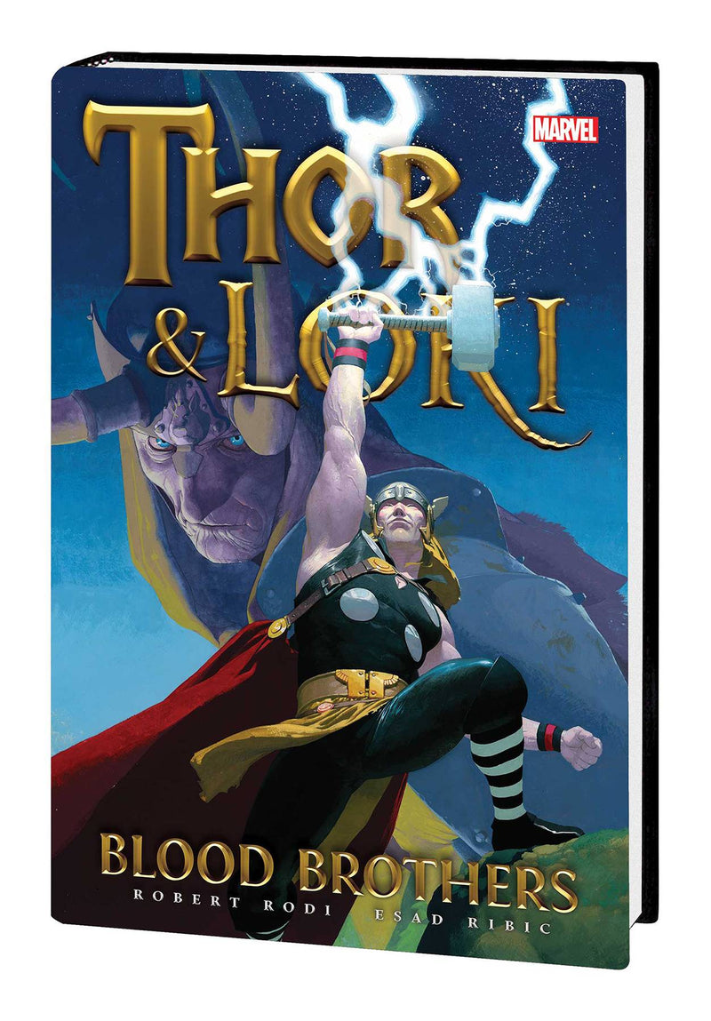 THOR AND LOKI HC BLOOD BROTHERS NEW PTG 8/7/2019