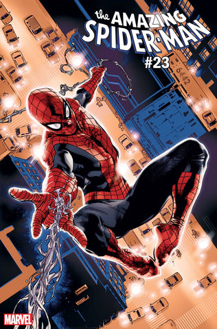 AMAZING SPIDER-MAN #23 IMMONEN SPIDER-MAN BLUE RED SUIT VAR (06/12/2019)
