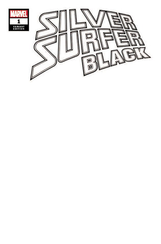 SILVER SURFER BLACK #1 (OF 5) BLANK VAR (06/12/2019)