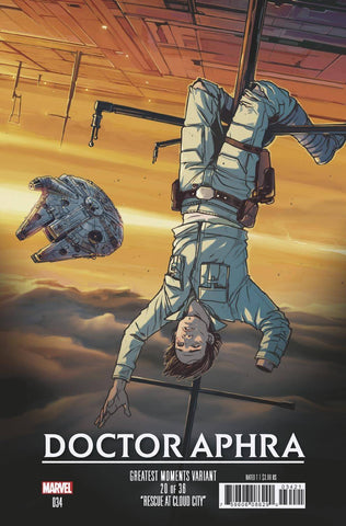 STAR WARS DOCTOR APHRA #34 WIJNGAARD GREATEST MOMENTS VAR (07/17/2019)