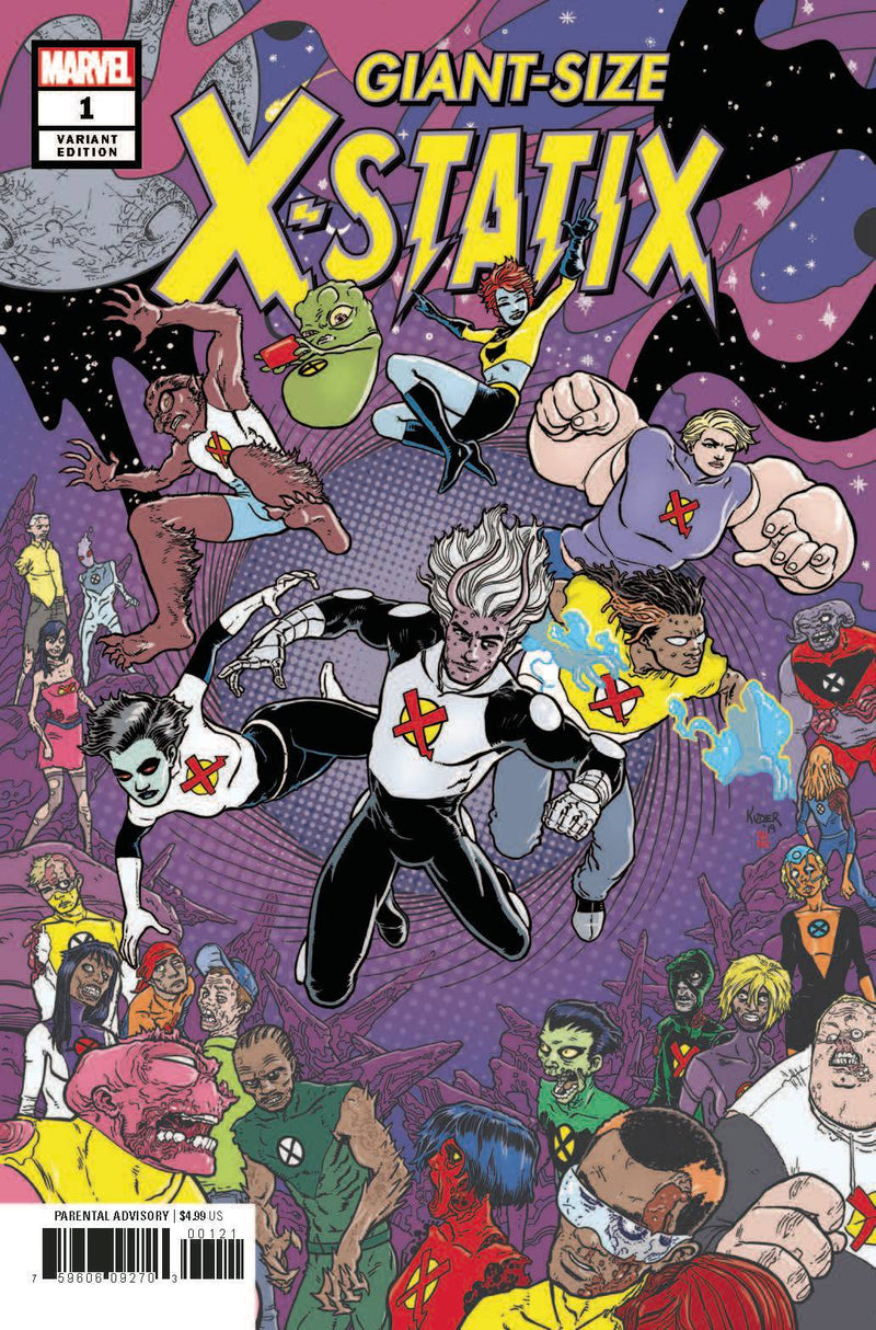 GIANT SIZED X-STATIX