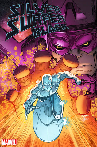 SILVER SURFER BLACK #1 (OF 5) RON LIM VAR 6/12/2019