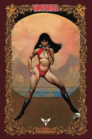 VAMPIRELLA #1 100 COPY FRAZETTA ICON INCV (07/17/2019)