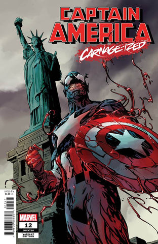 CAPTAIN AMERICA #12 GUICE CARNAGE-IZED VAR (07/31/2019)