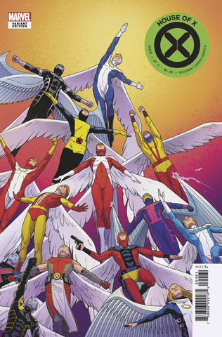 HOUSE OF X #4 (OF 6) CHARACTER DECADES VAR (09/04/2019)