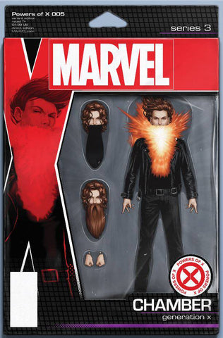 POWERS OF X #5 (OF 6) CHRISTOPHER ACTION FIGURE VAR (09/25/2019)