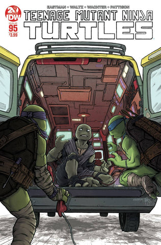 TMNT ONGOING #95 2ND PTG (08/07/2019)