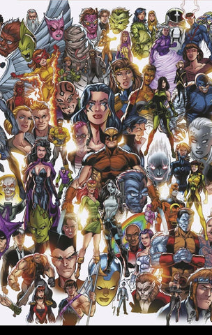 X-FORCE #1 BAGLEY EVERY MUTANT EVER VAR DX (11/06/2019)