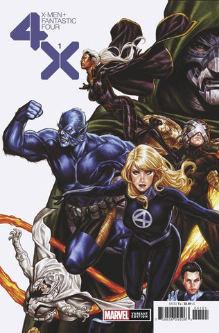 X-MEN FANTASTIC FOUR #1 (OF 4) BROOKS VAR (02/05/2020)