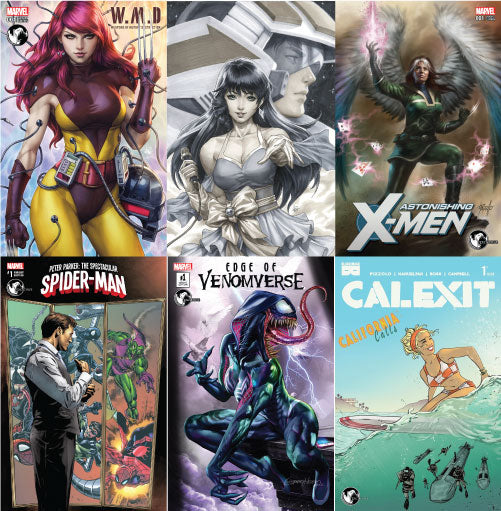 SUMMER SAMPLER BUNDLE: UNKNOWN COMIC BOOKS EXCLUSIVES 6 PACK