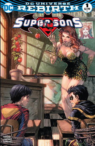 SUPER SONS #1 UNKNOWN COMIC BOOKS EXCLUSIVE POISON IVY