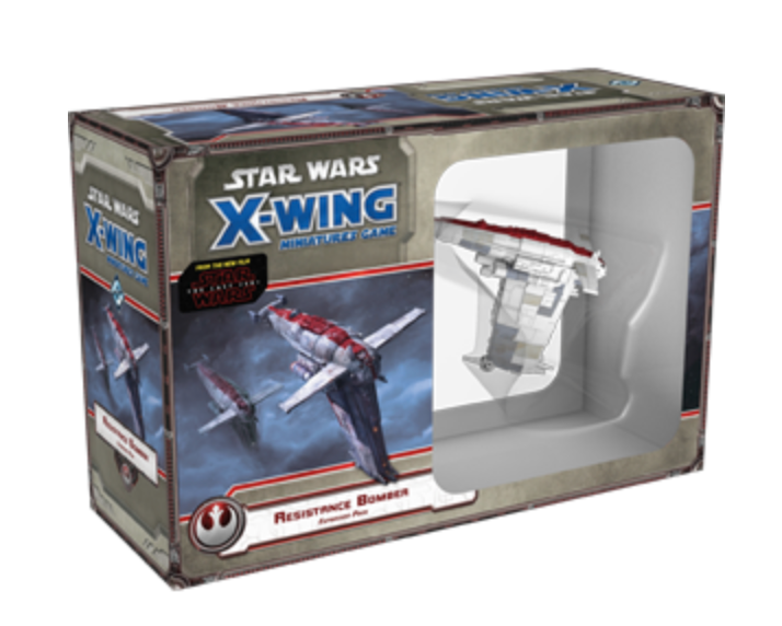 Star Wars X-Wing 1st Ed: Resistance Bomber Expansion Pack