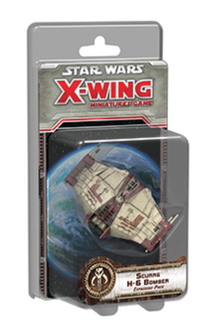 Star Wars X-Wing 1st Ed: Scurrg H-6 Bomber Expansion Pack