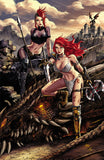 RED SONJA AGE OF CHAOS #3 UNKNOWN COMICS CREEES EXCLUSIVE VIRGIN VAR (03/18/2020)