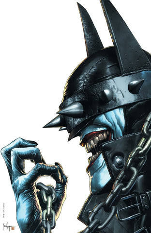BATMAN WHO LAUGHS #1 (OF 6) UNKNOWN COMIC BOOKS EXCLUSIVE SUAYAN VIRGIN SIGNED W/ COA 2/13/2019