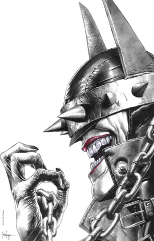BATMAN WHO LAUGHS #1 (OF 6) UNKNOWN COMIC BOOKS EXCLUSIVE SUAYAN REMARK EDITION SIGNED W/ COA 2/13/2019