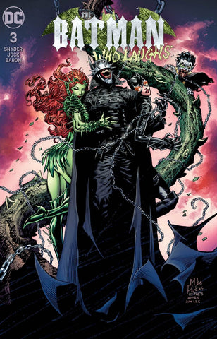 BATMAN WHO LAUGHS #3 (OF 6) UNKNOWN COMIC BOOKS EXCLUSIVE PERKINS 2/13/2019