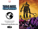 THANOS #14 5TH PTG SHAW UNKNOWN COMIC BOOKS VIRGIN