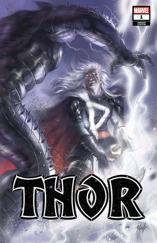 THOR #1 UNKNOWN COMICS LUCIO PARRILLO EXCLUSIVE VAR (01/01/2020)