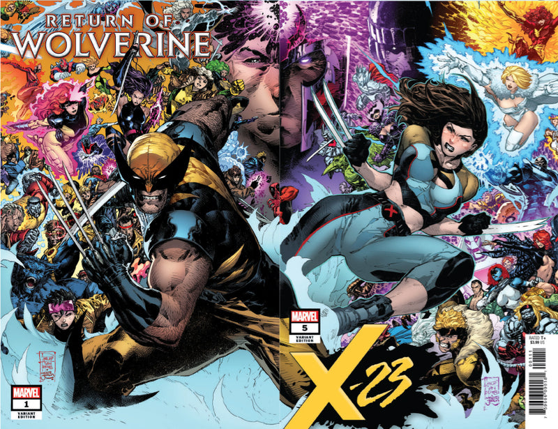 RETURN OF WOLVERINE #1 / X-23 #5 UNKNOWN COMIC BOOKS PHILIP TAN 5 PACK 10/10/2018