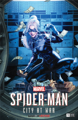 SIGNED W/ COA SPIDER-MAN CITY AT WAR #1 (OF 6) UNKNOWN COMIC BOOKS ANACLETO EXCLUSIVE (07/31/2019)