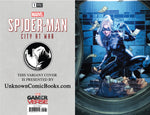 SPIDER-MAN CITY AT WAR #1 (OF 6) UNKNOWN COMIC BOOKS ANACLETO LMTD VIRGIN EXCLUSIVE 3/20/2019