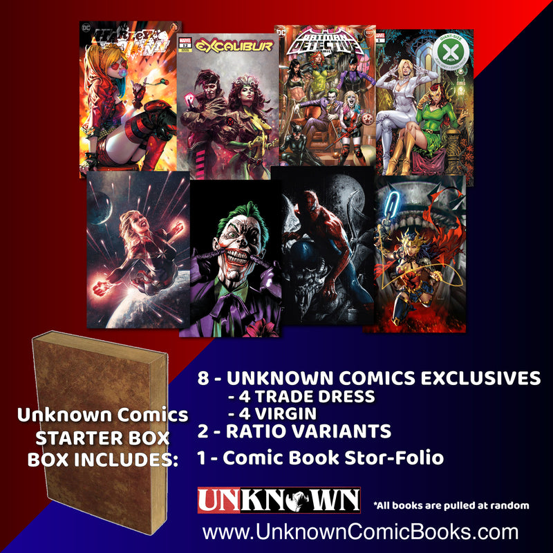 UNKNOWN COMICS STARTER BOX (10/21/2020)